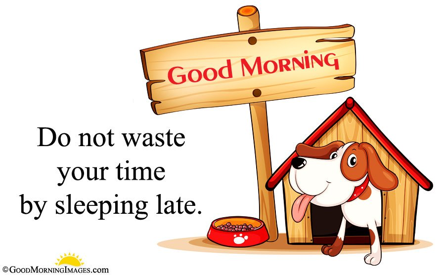 Animated Full Hd Dog Wallpaper With Gud Morning Message