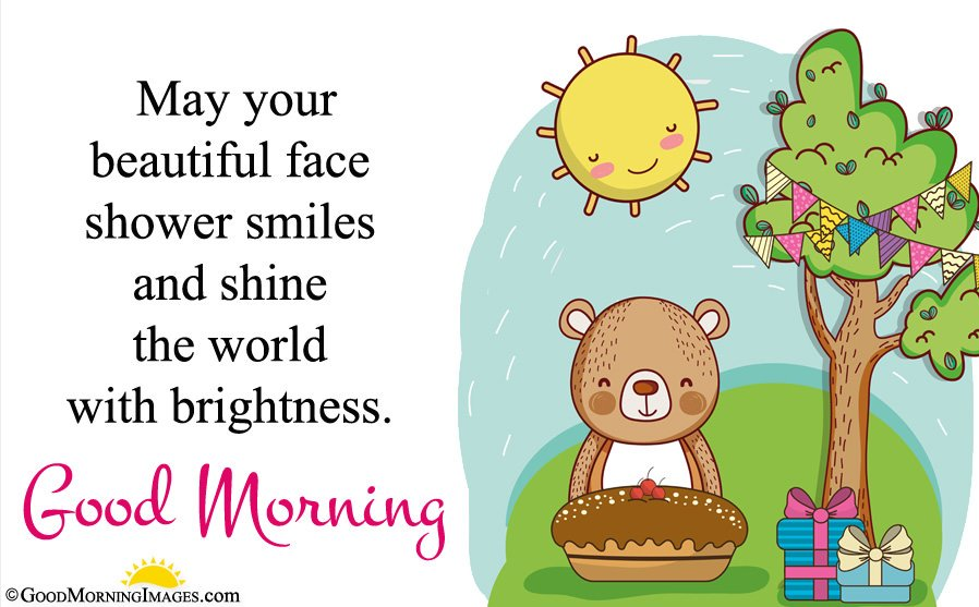 Best Cute Teddy Bear Hd Wallpaper With Morning Wishes