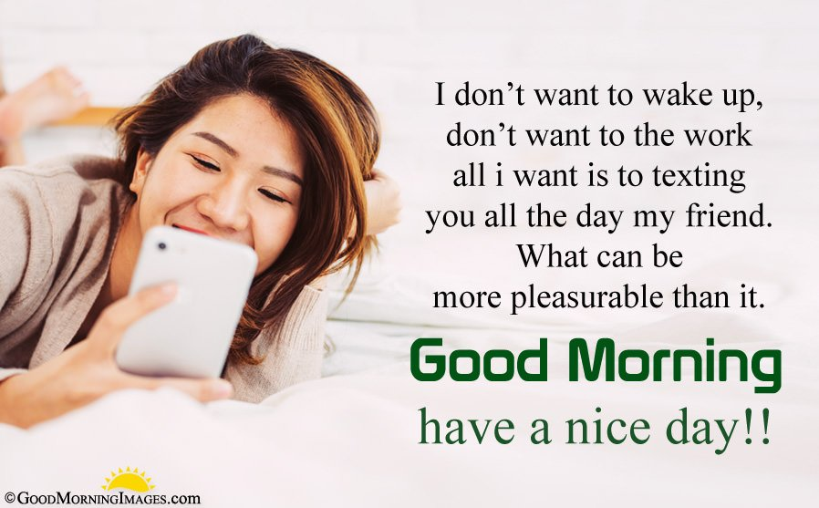 Best Good Morning Friend Message With Image