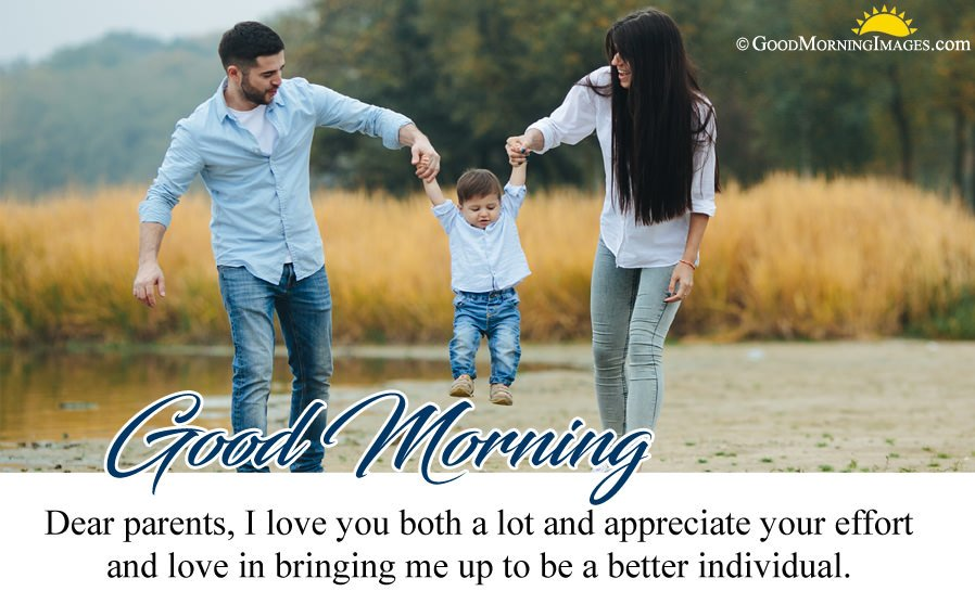 Best Good Morning Message For Parents With HD Wallpaper