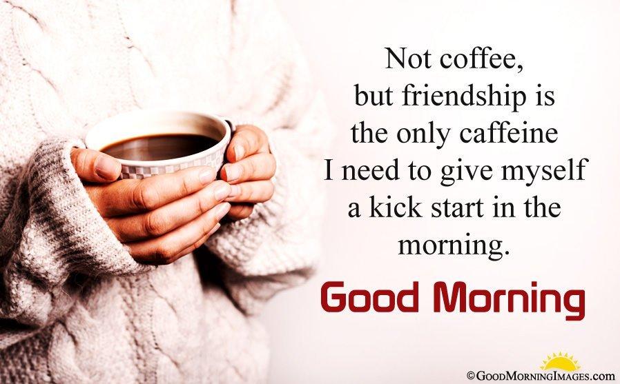 Best Morning friendship greeting image
