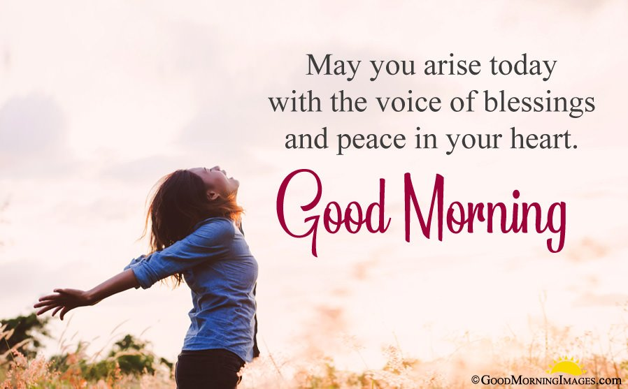 Blessing Peace Morning Message With Latest Hd Image
