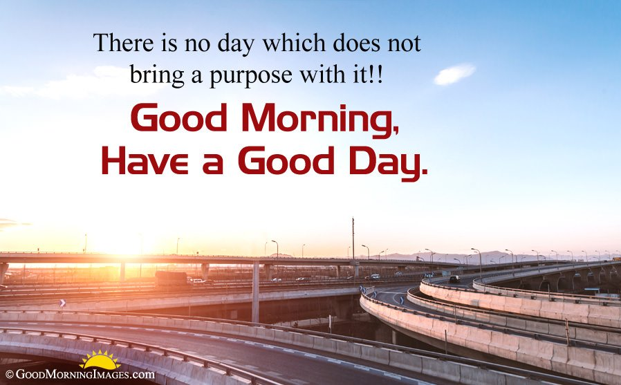 Full HD Sunrise picture With Have a Good Day Message