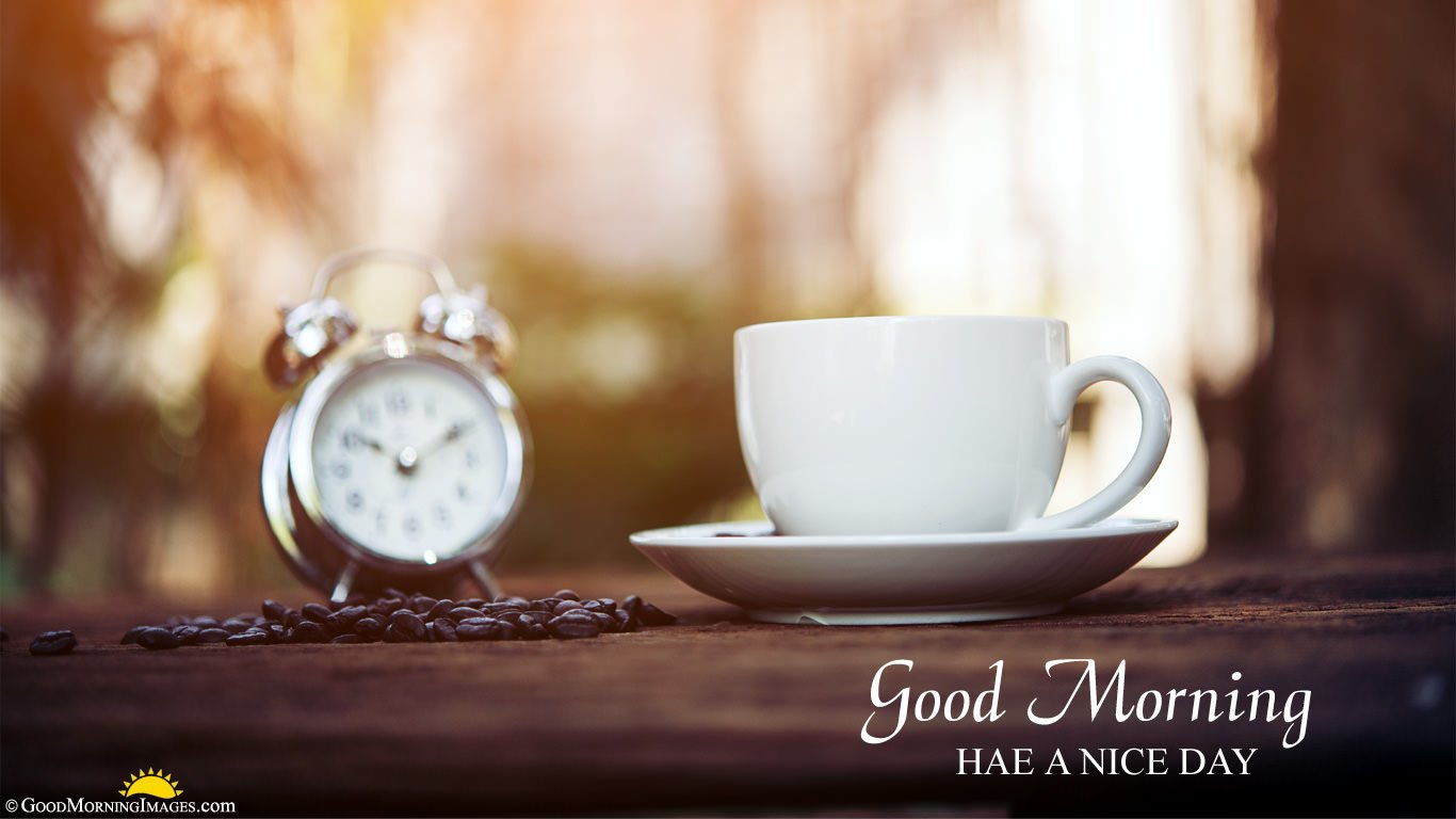Good Morning Alarm Hd Laptop Wallpaper