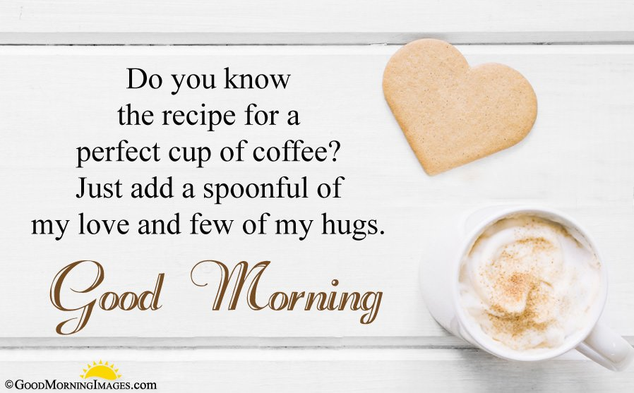 Good Morning Love Sms Message For GF Bf With Wallpaper