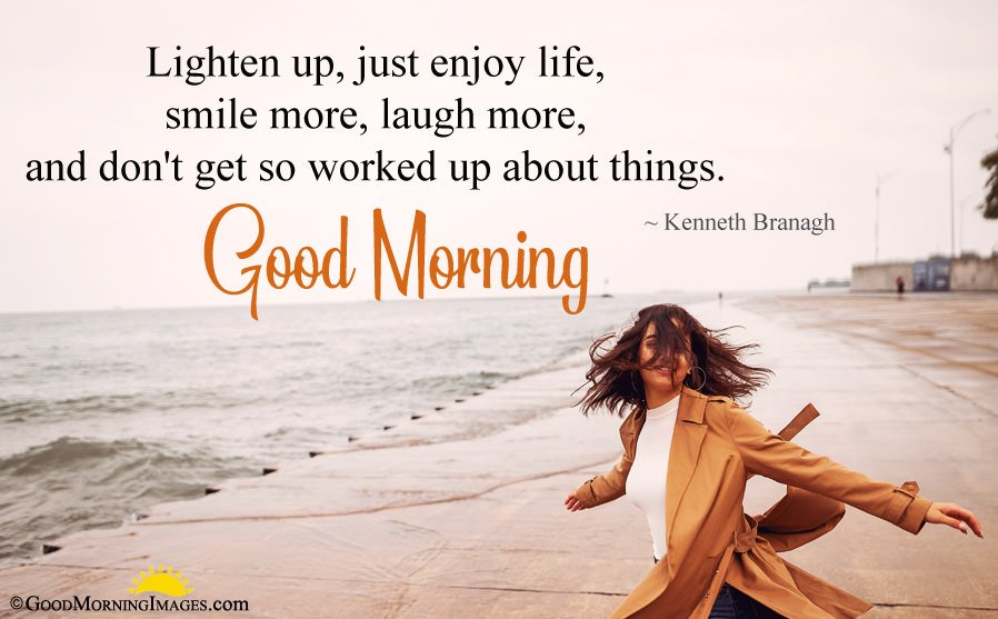 Good Morning Quote With HD Image
