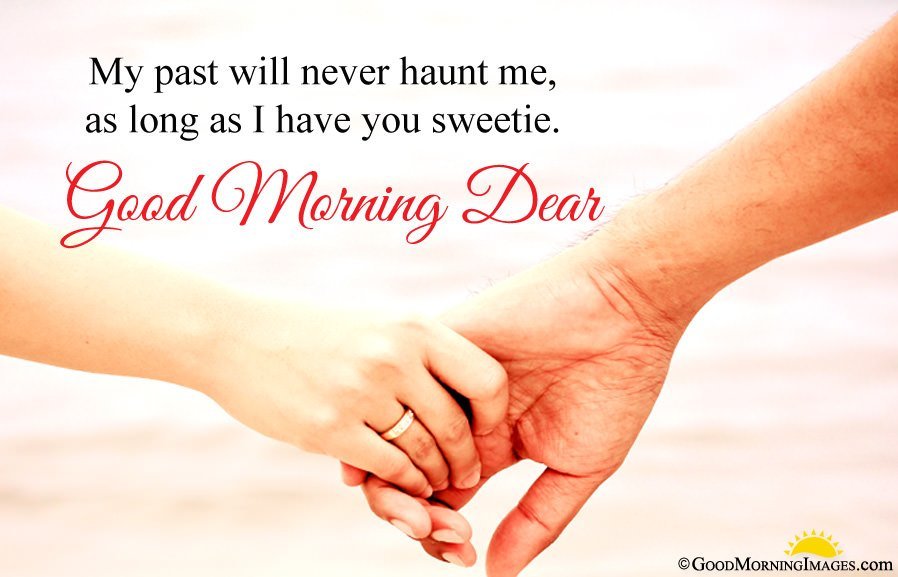 Good Morning Sms Wishes For Her With Holding Hand Wallpaper