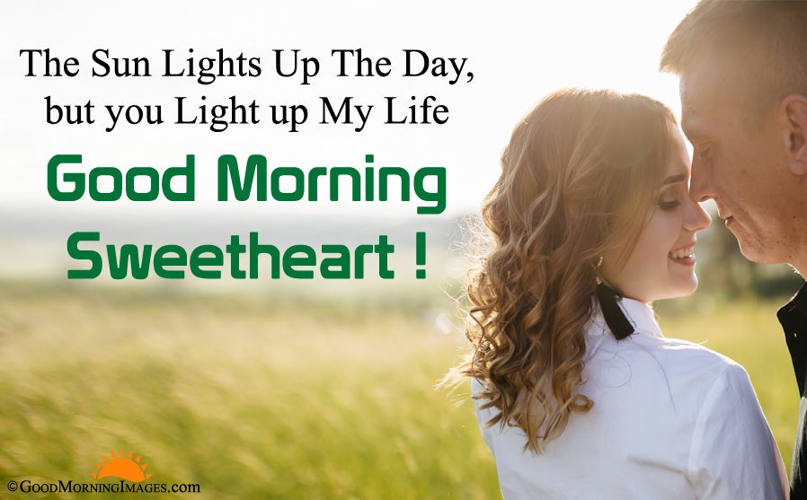 Good Morning Sweetheart Wishes For Boyfriend With HD Wallpaper