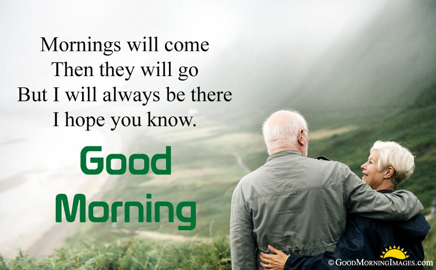 Good Morning True Love Message With Hd Couple Image