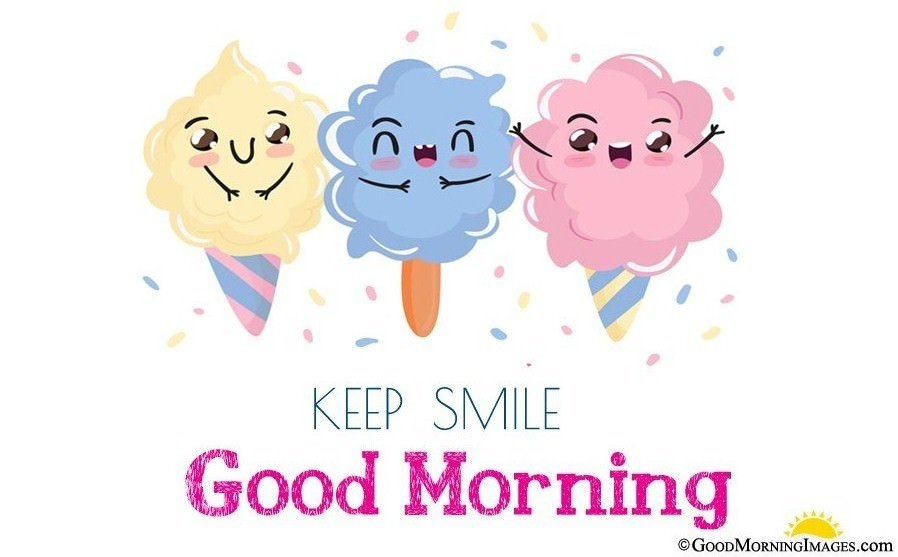Cute Good Morning Wishes Image