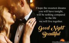 Good Night Love Quote Image