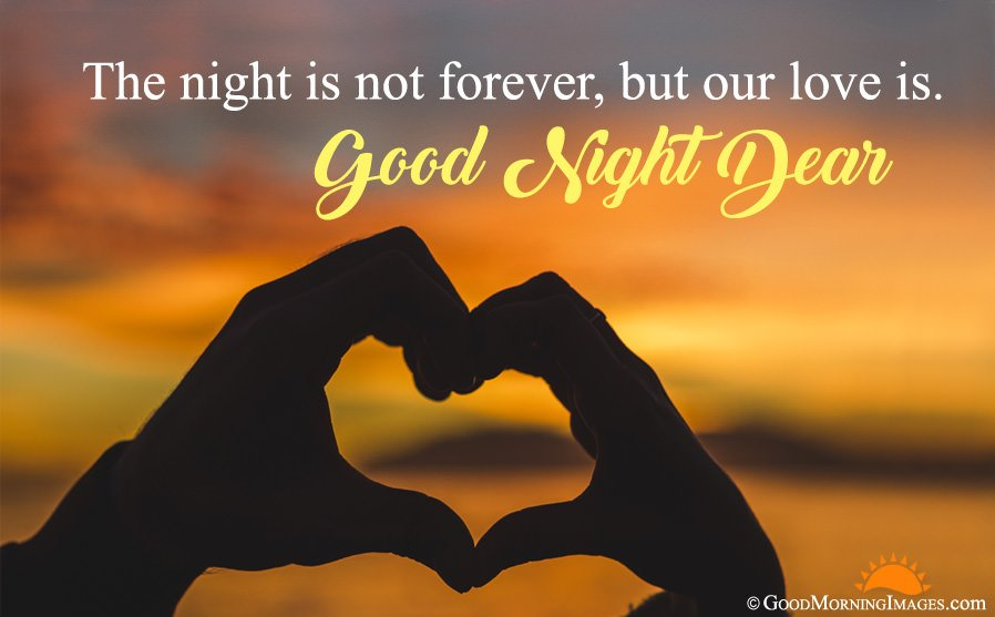 Romantic Good Night Love Quotes, Sayings Images, GN Lover Messages