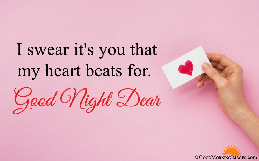 Good Night Sms Quote For Love With Full HD Wallpaper