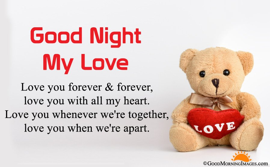 Romantic Good Night Love Quotes Sayings Images Gn Lover Messages
