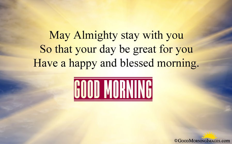 Happy and Blessed Religious Morning Wishes Sms