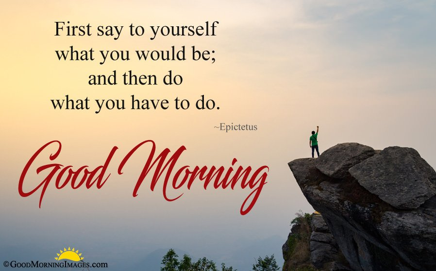 Inspirational Good Morning Quote With Latest Full HD Picture