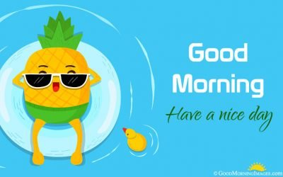 Latest Cute Animated Good Morning Wallpaper