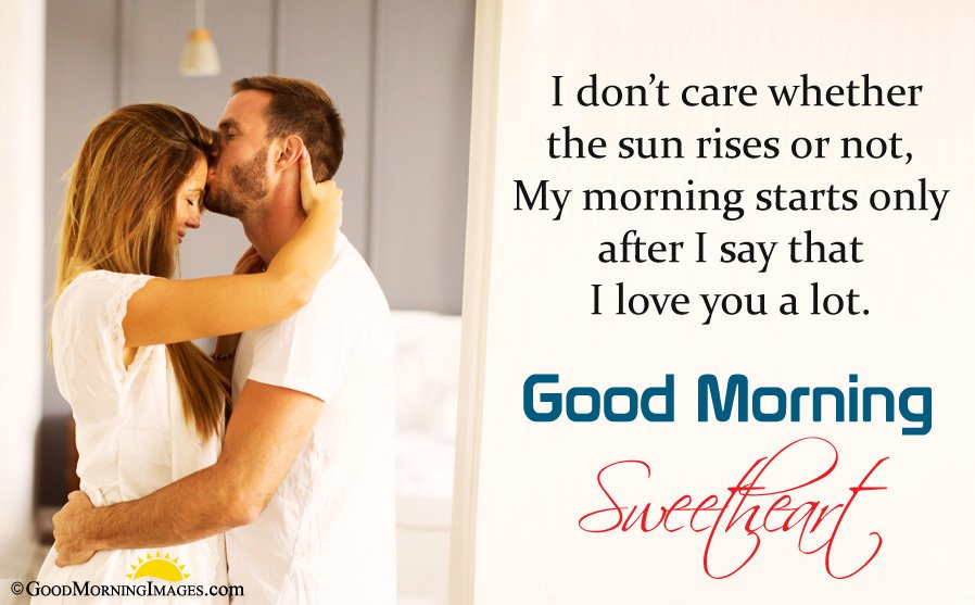 Latest Good Morning Love Message For Her With Full Hd Wallpaper