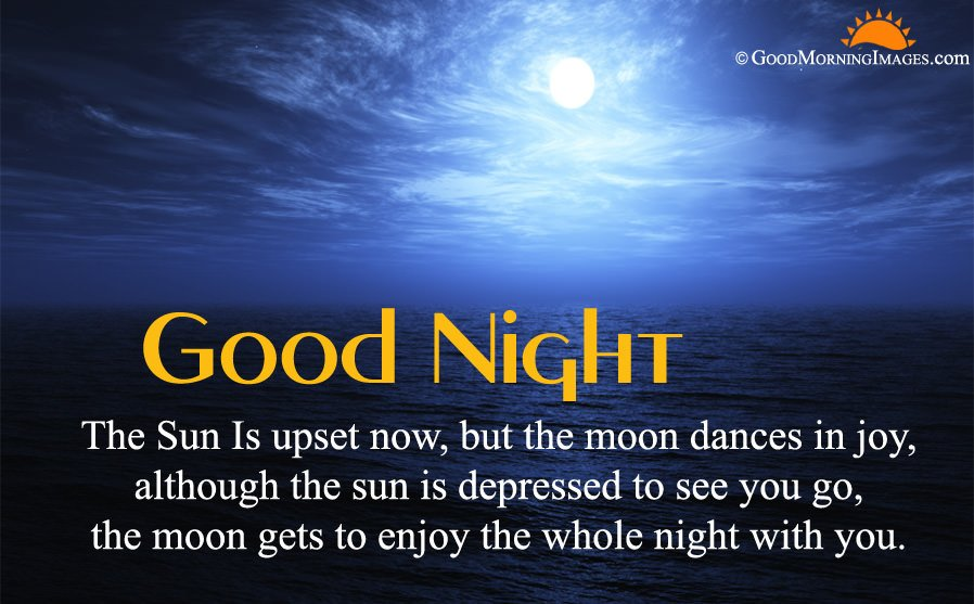 Latest Good Night Message With Full HD Background
