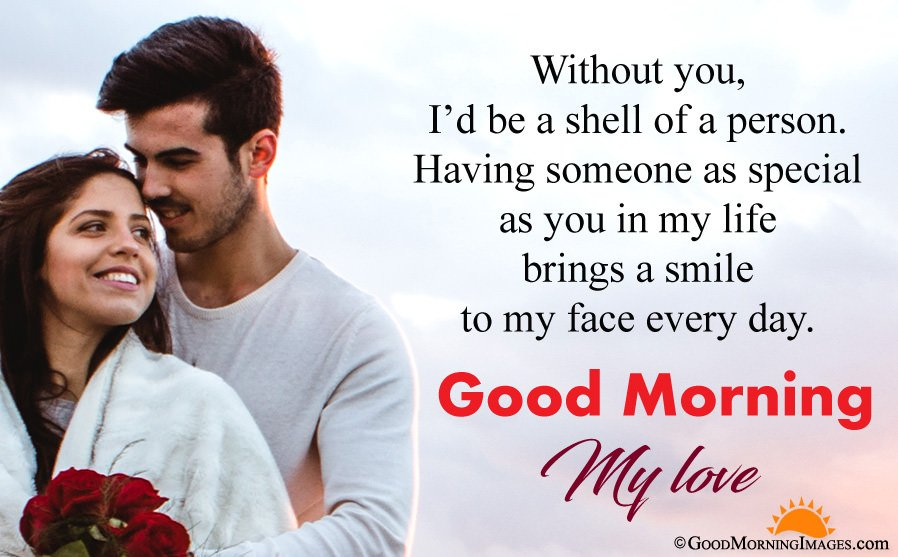 Most Romantic Good Morning Wishes For Boyfriend With HD Romantic Wallpaper