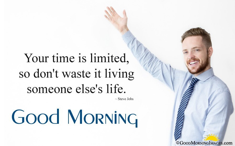 Motivational Good Morning Business Quote With Picture