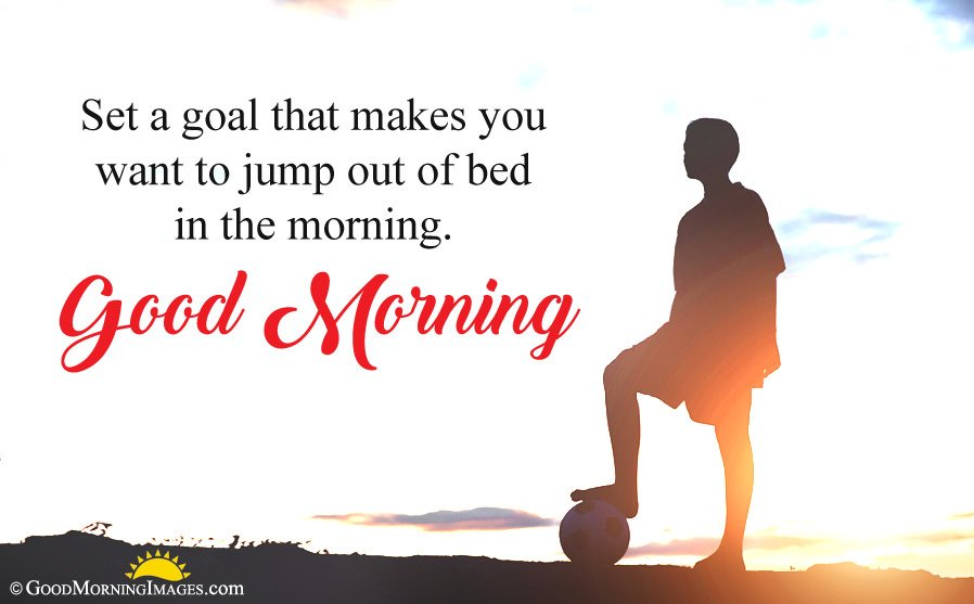 Motivational Good Morning Quote With Full HD Wallpaper