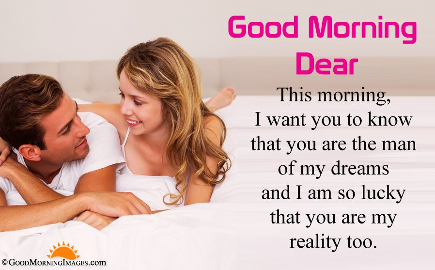 Romantic Couple Morning HD Image With Morning Wishes For Boyfriend