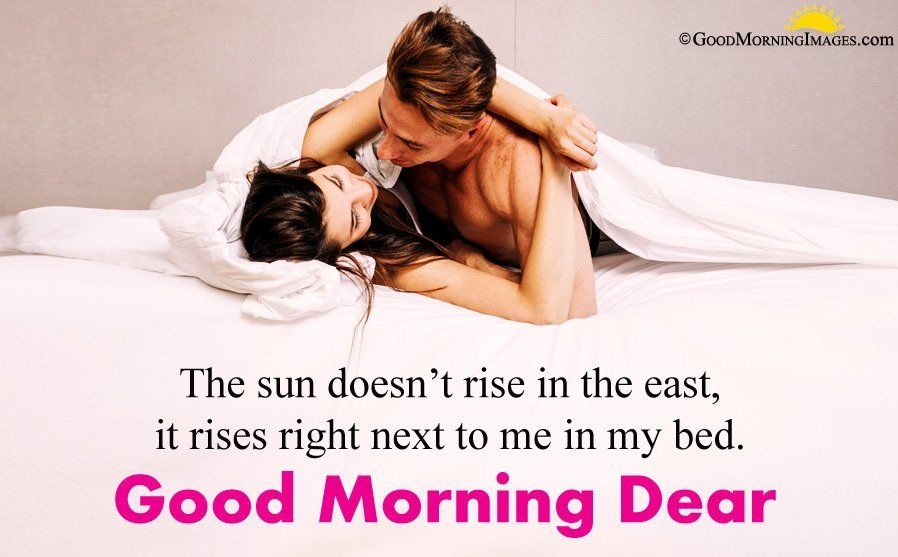 Romantic Good Morning Message For Him and Her With Full HD Couple Image