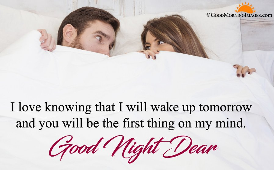 Romantic Gud Night Quote Msg With Hd Image