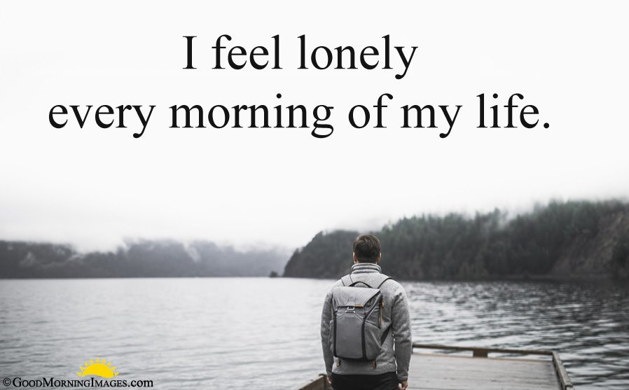 Sad Morning Quote With Sad HD Image