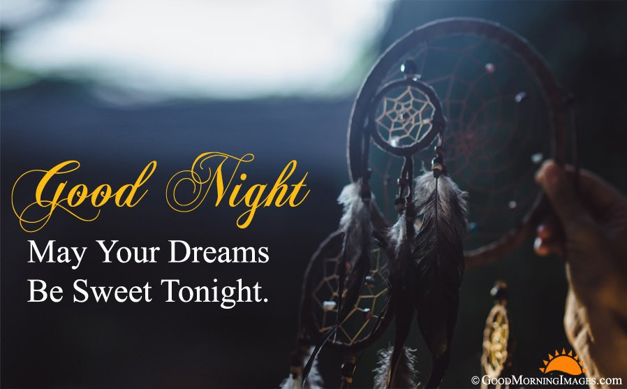 Short Good Night Wishes With Full HD Wallpaper