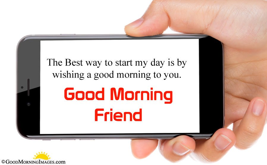 Simple Good Morning Message For Friend