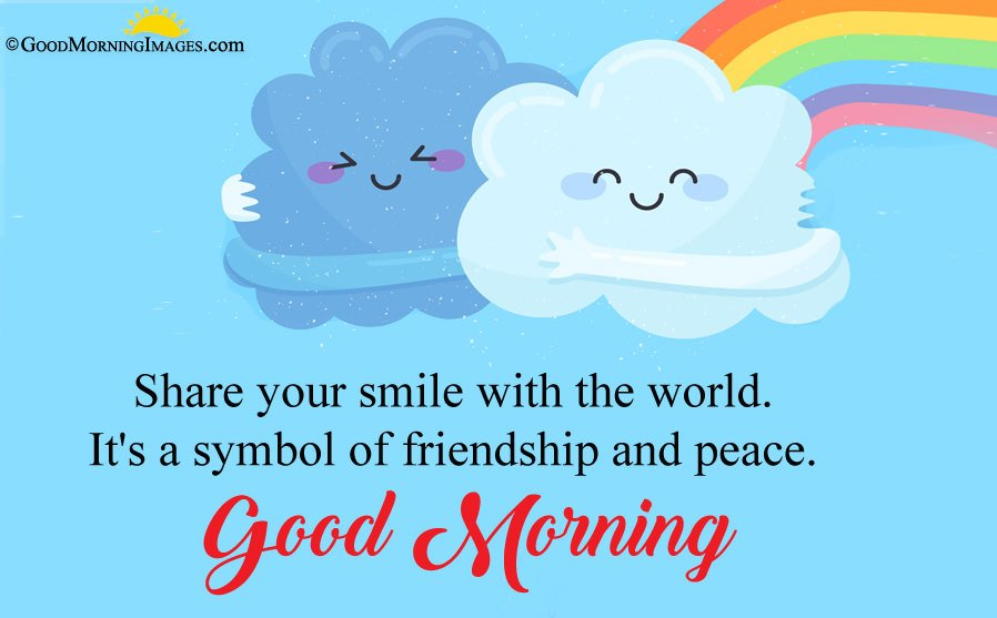 Sweet Friendship Quote With Cute Morning HD Wallpaper