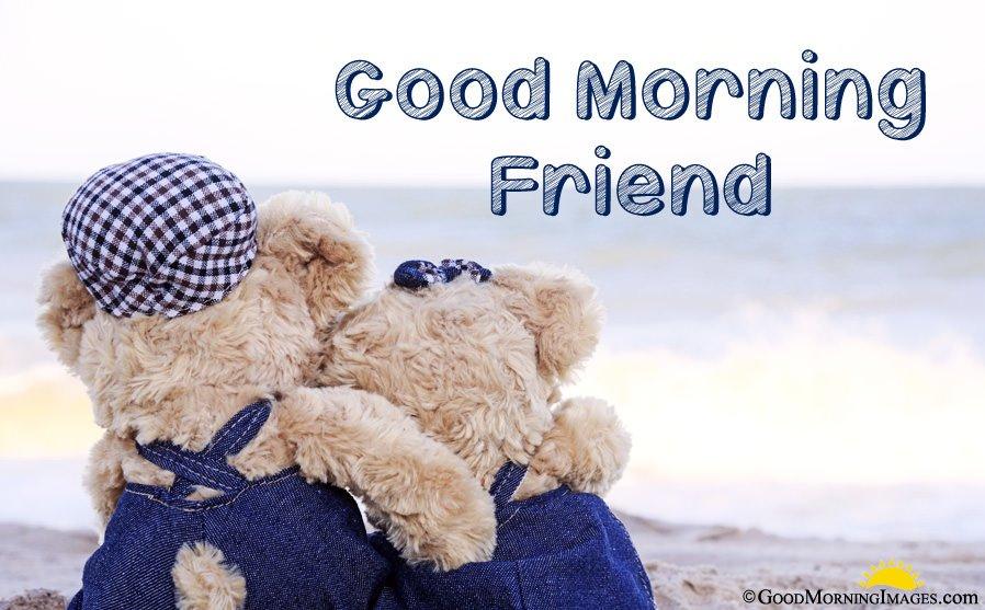 Sweet Good Morning Friend Image