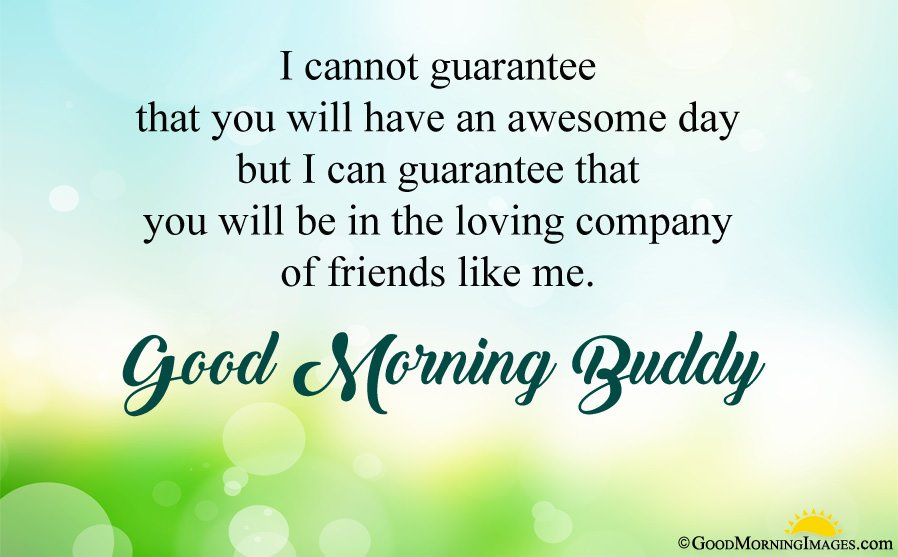 Sweet Morning Wishes For Friend With Image