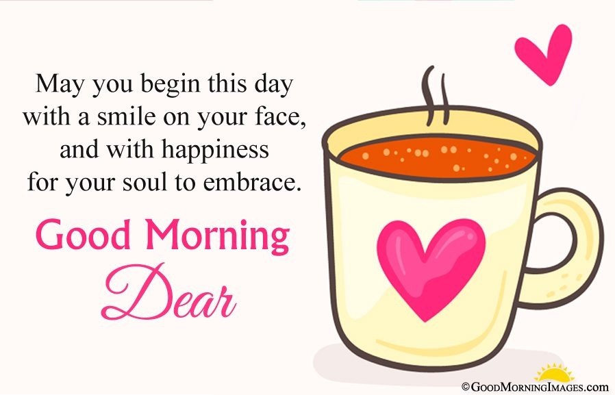 Sweet Morning Wishes For gf With Full Hd Cute Heart Cup Wallpaper