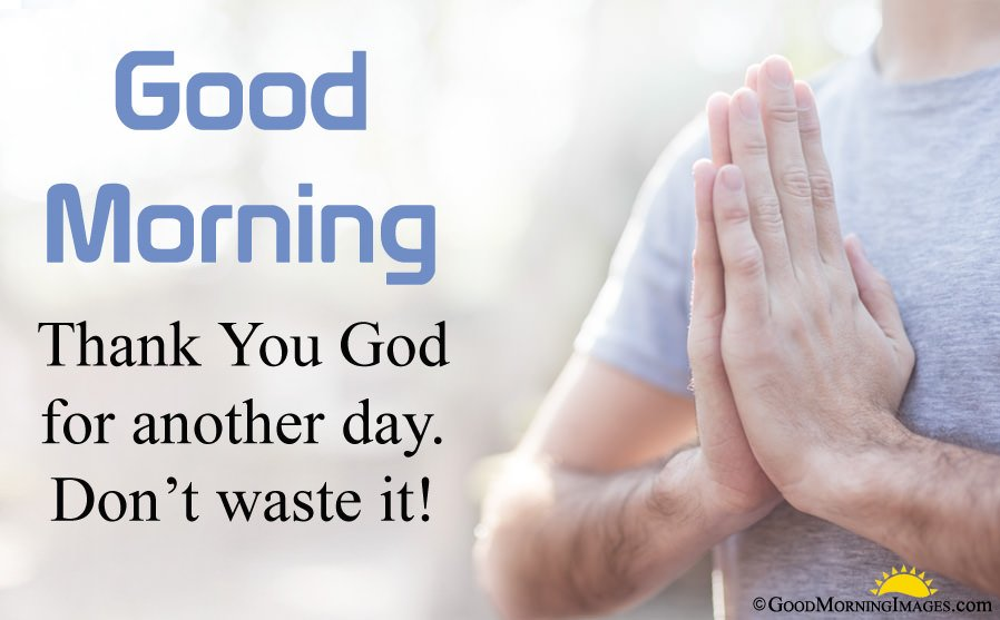 Thank You God Morning Quote With HD Wallpaper