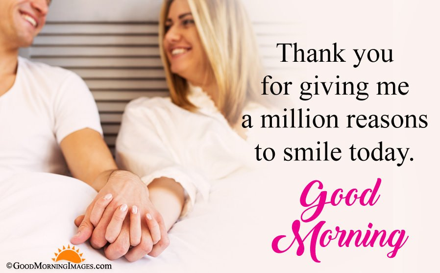 Thank You Good Morning Message For Boyfriend With HD Picture