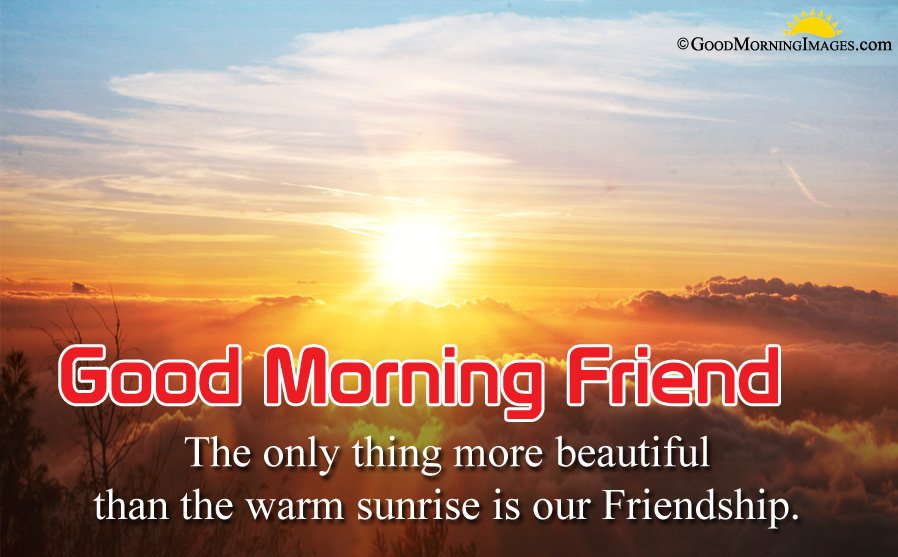 Touching Good Morning Wishes For Friend