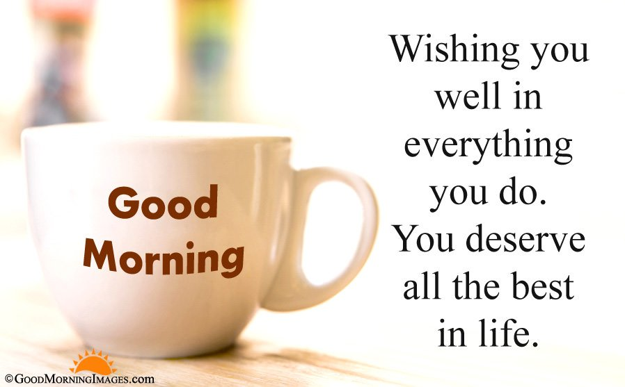 All The Best Good Morning Wishes With Full HD Coffee Cup Wallpaper