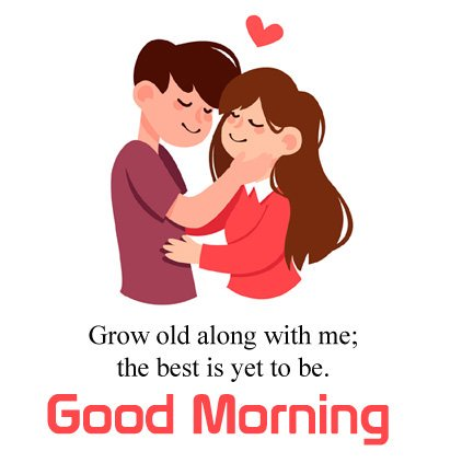Animated Couple Cute Good Morning Love Image