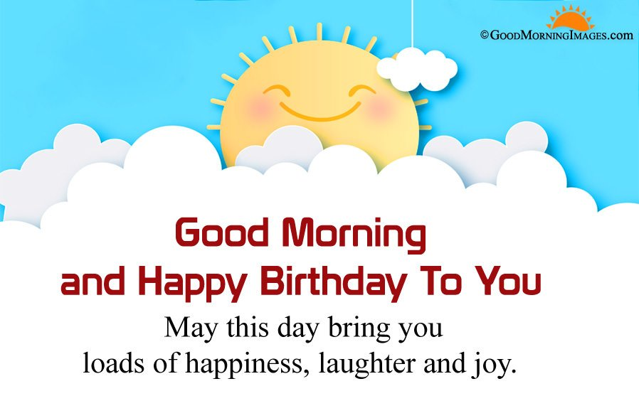 Best Good Morning Birthday Wishes Sms With Full HD Sunrise Wallpaper