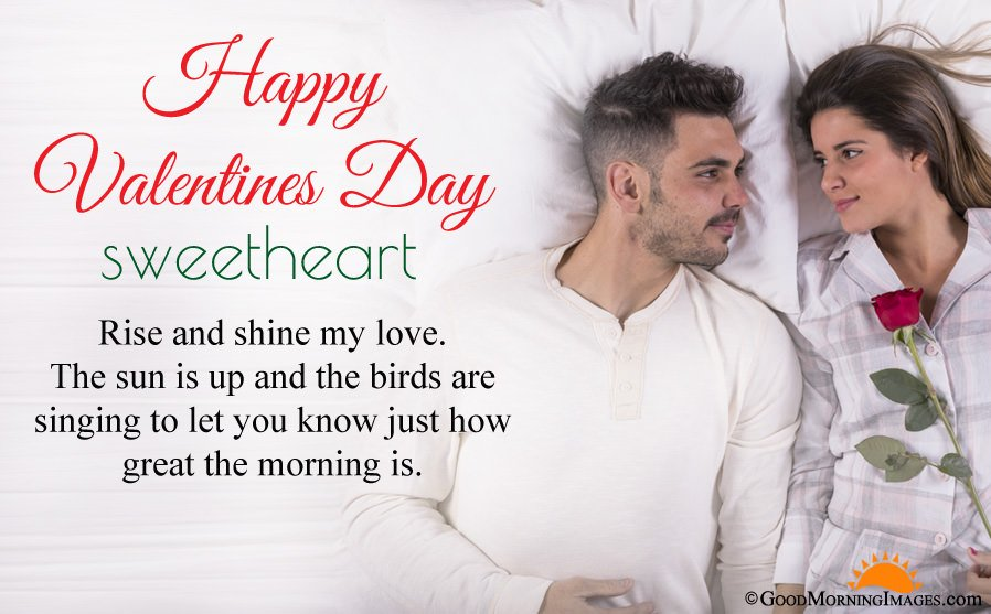 Best Good Morning Valentine Wishes For Girlfriend Boyfriend With Full HD Image