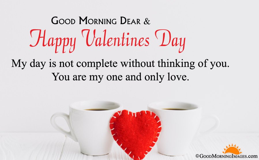 Best Good Morning Valentines Day Wishes With Full HD Wallpaper For Couple