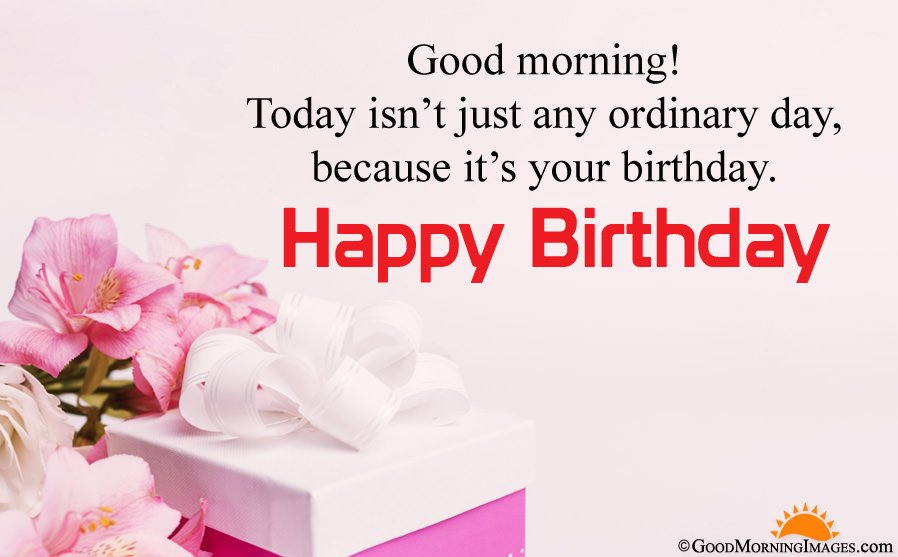 Birthday Good Morning Wishes With Full HD Wallpaper