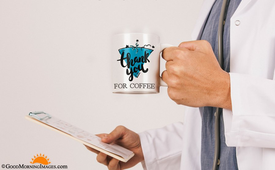 Coffee Mug Thank You Quotes With HD Image