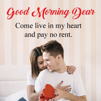 Couple Good Morning Love Image With Wishes For GF BF