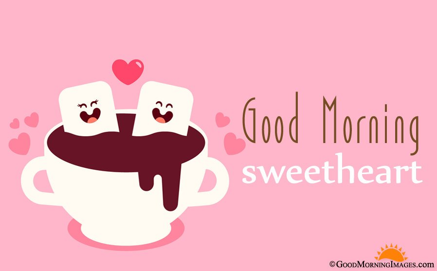 Cute Sweet Good Morning Love Picture With Wishes