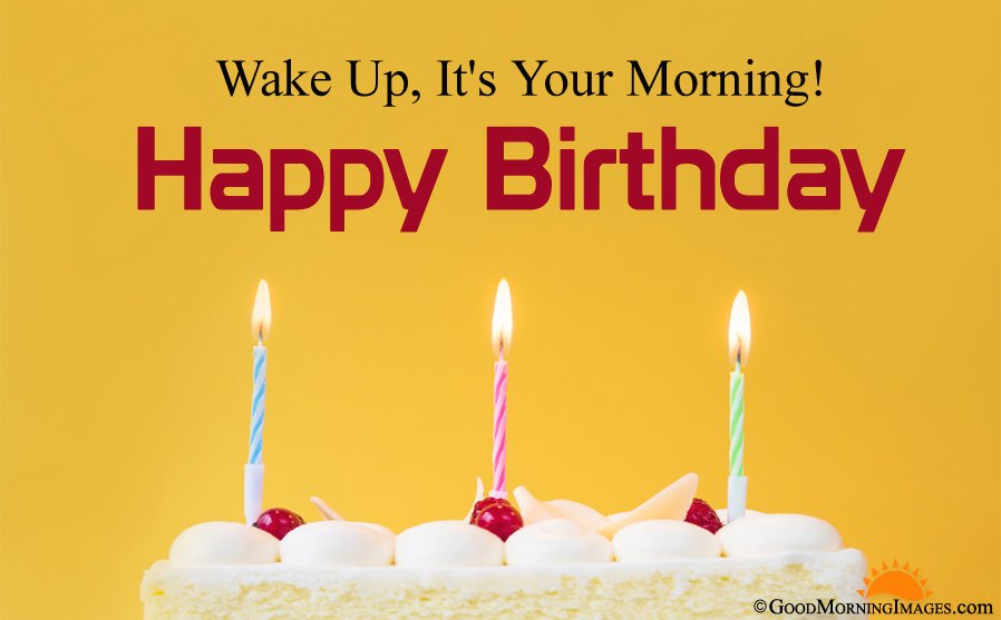 Full HD Birthday Good Morning Greeting Picture