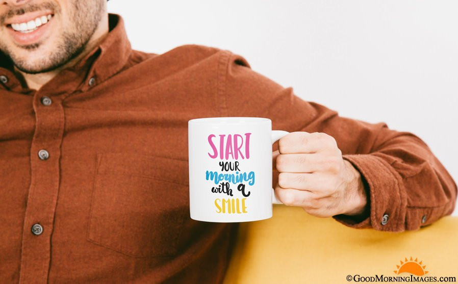 Full HD Coffee Mug With Quotes Image